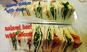 Sandwich Sihat dan Segar lagi Halal