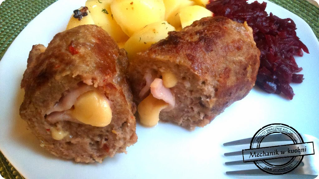 rolada z mięsa mielonego roulade with minced meat Roulade mit Hackfleisch mechanik cullinary blog