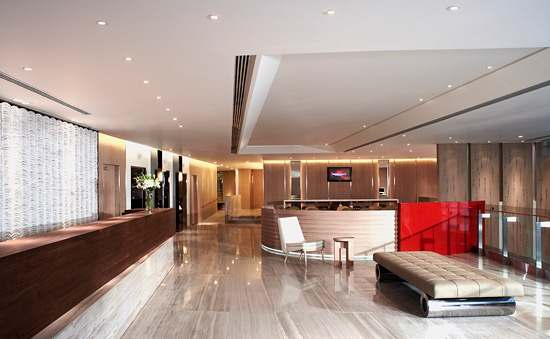 Home designs perfect ideas to decorate a lobby for Minimalist hotel