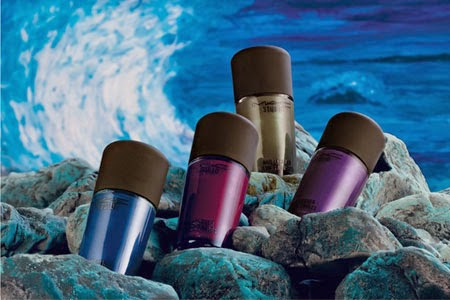 MAC cosméticos novel romance lacas de uñas