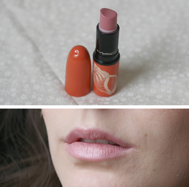 Mac-Lipstick-collection-blog-LUSTRE-LAZY-DAY-SWATCH
