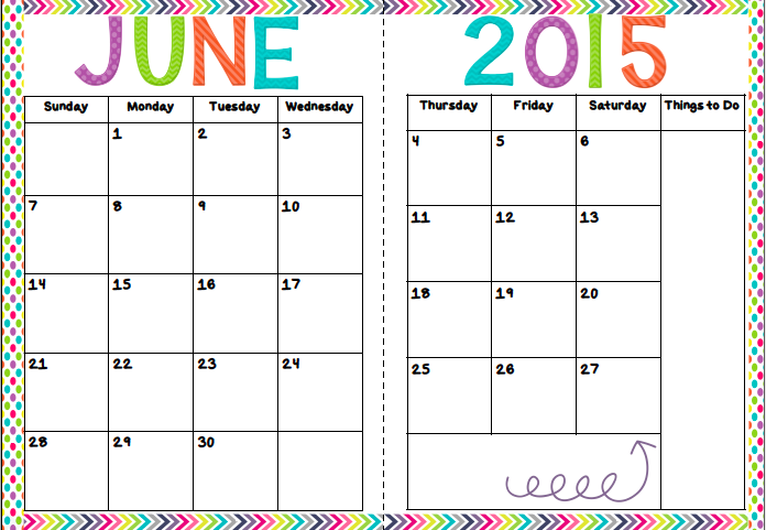 Calendar Craze June : Creatively crazy with learning new product alert june