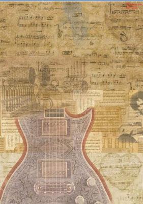 декупажная карта музыка