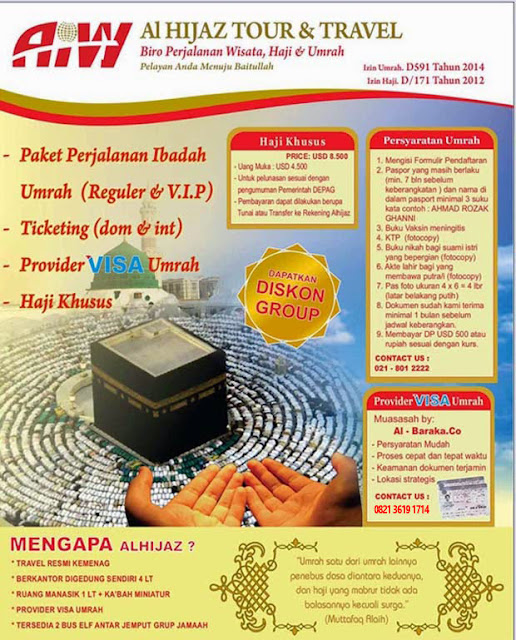 Rekening Travel Al Hijaz