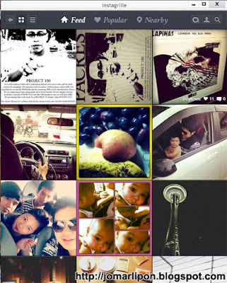Instagrille: Use Instagram on Desktop