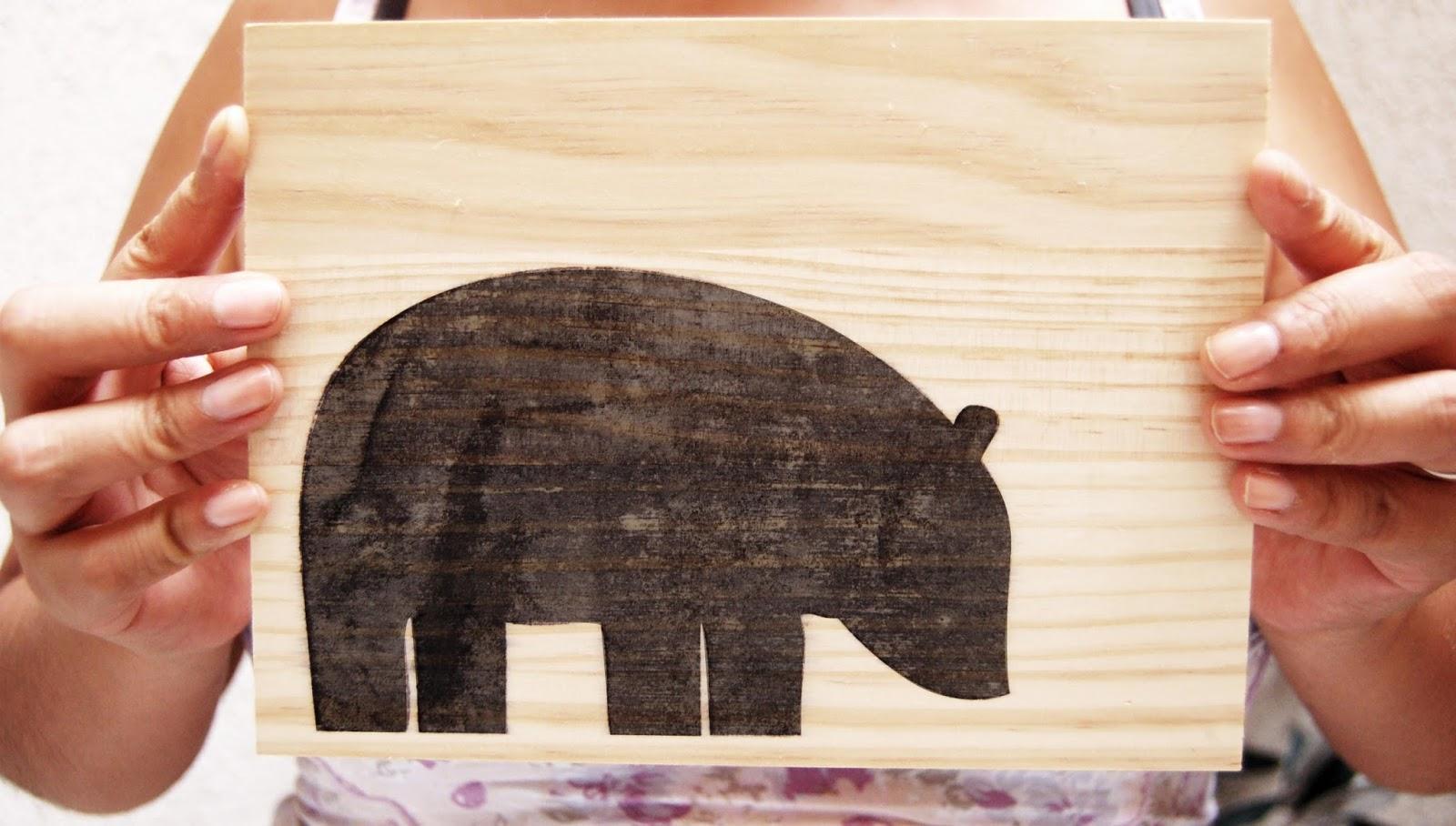 Transferir imagen a madera