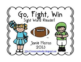https://www.teacherspayteachers.com/Product/Go-Fight-Win-Sight-Word-Reader-916302