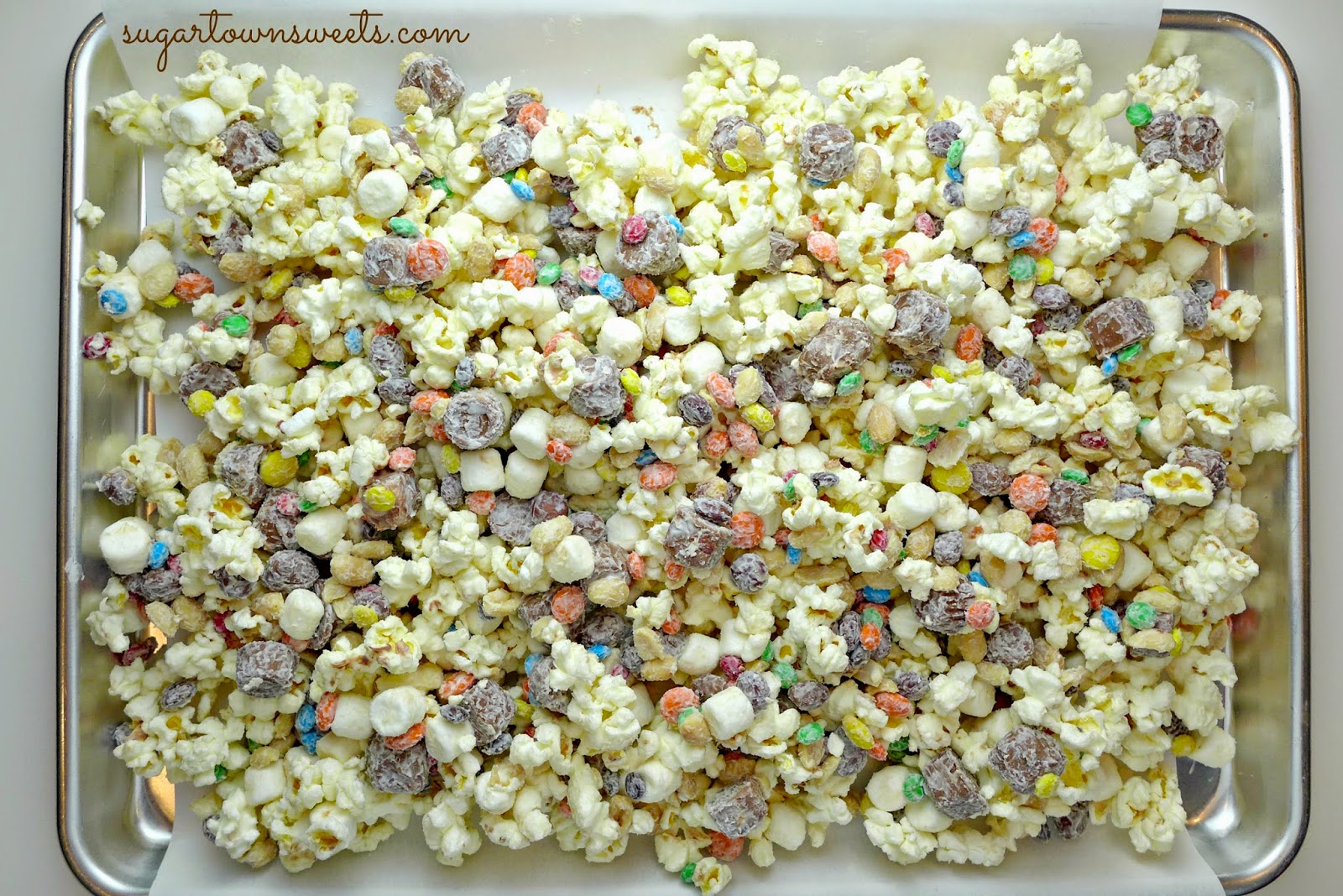 Popcorn Bar Recipes Popcorn Snack Mix Recipe