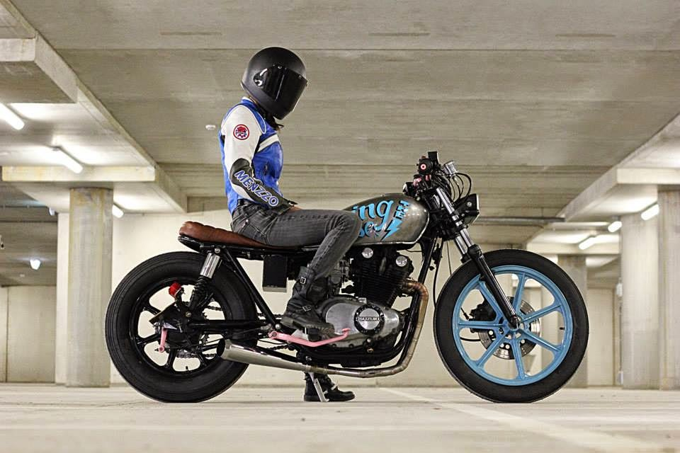 Cool kid customs Amsterdam / Suzuki GS450L | BRS Weblog..custom ...