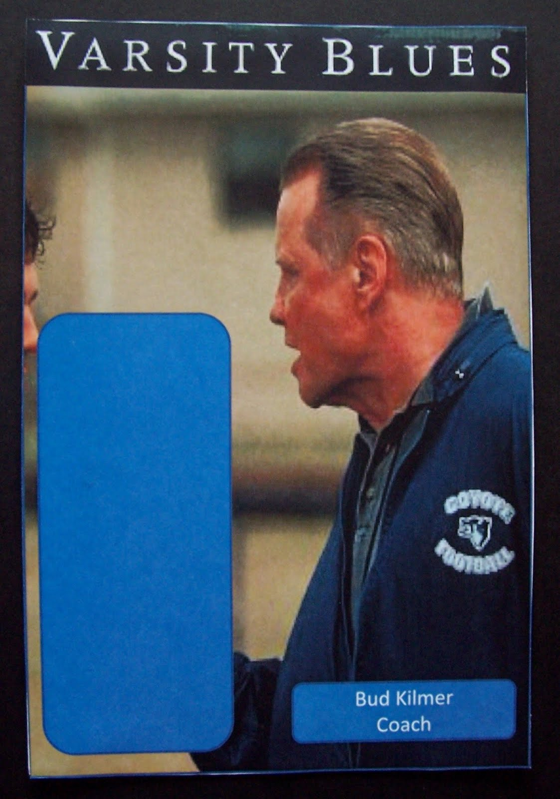 G.I. Jigsaw: Varsity Blues Custom Action Figure Cards