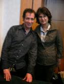 Impreuna cu dr. Eric Pearl la seminarul de la Bucuresti din 2007