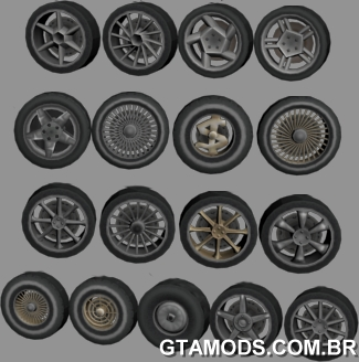 HD Original Wheels Pack