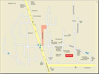 Location Plan - Marvel Brisa Balewadi Pune