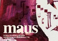 Del 19 al 21 de enero de 2012 el cuarto Ciclo de Música Antigua Universidad de Sevilla