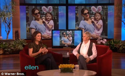 Katie Holmes Ellen on Laughing It Off  Katie Explained What Had Happened To Ellen Degeneres