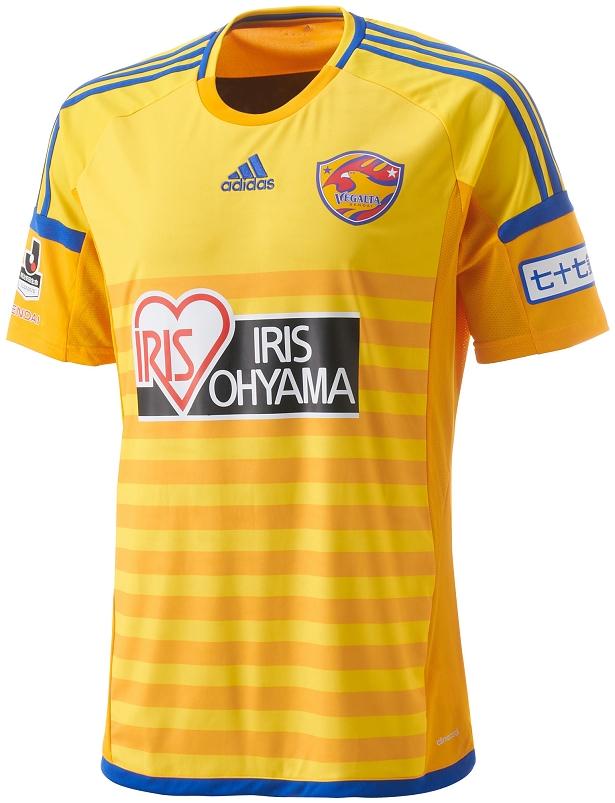 Adidas divulga camisa titular do Vegalta Sendai - Show de Camisas 63138395b4f98