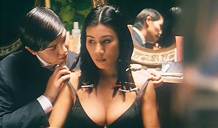 Big tits lingerie lesbians