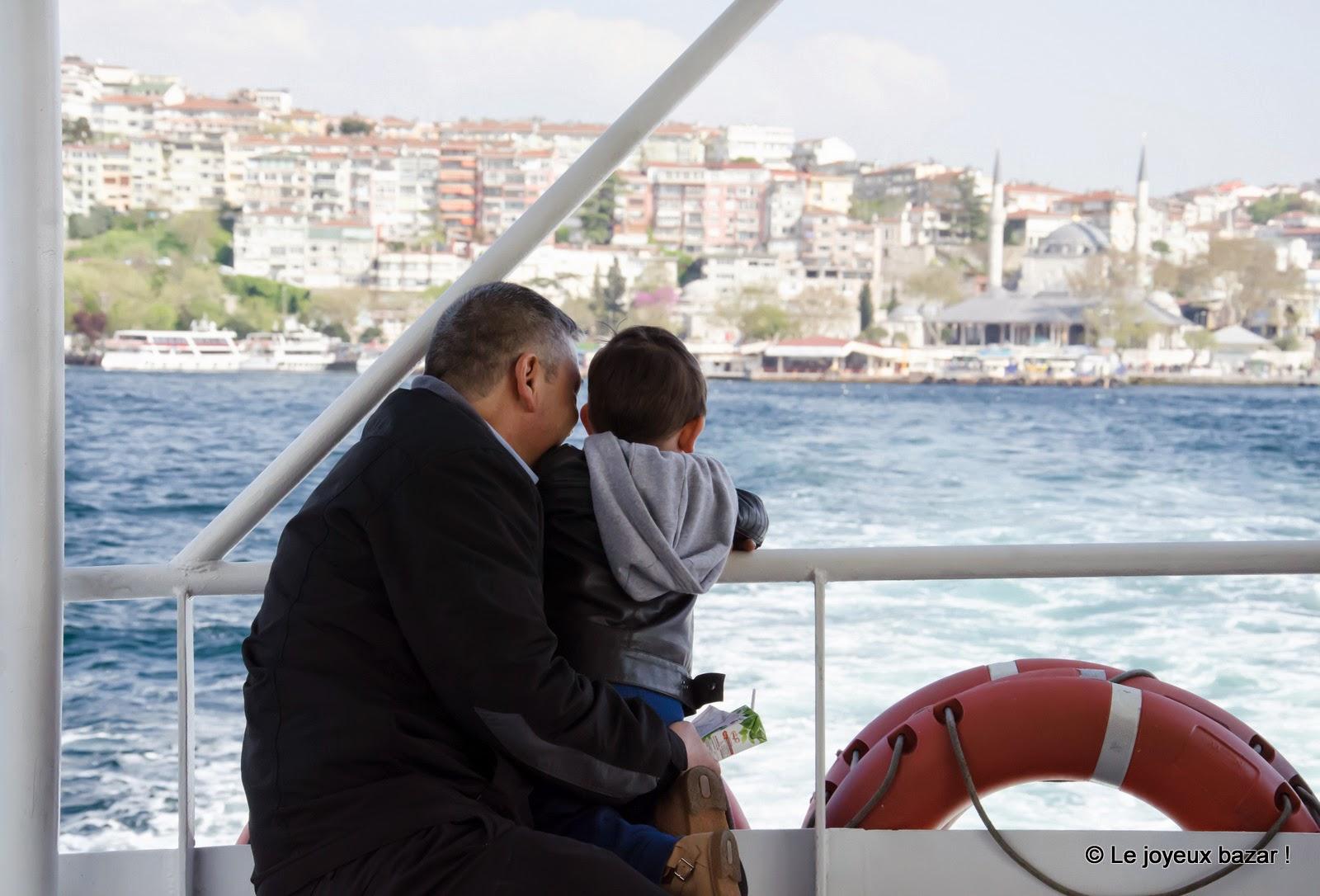 Istanbul - entre l'Europe et l'Asie