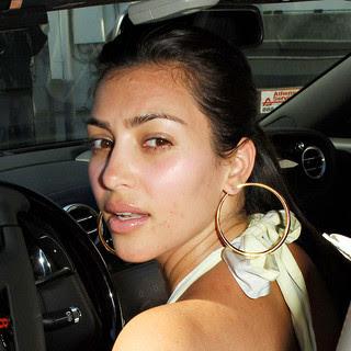 Kardashian  on Ingies  Kim Kardashian No Makeup