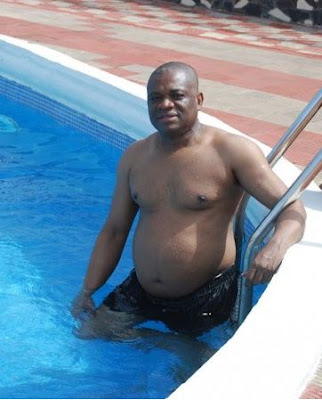 Orji Uzor Kalu bikini pot belly