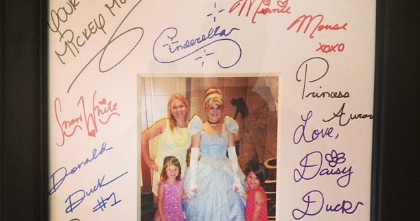 Mommy 2 Twincesses Favorite Disney Cruise Keepsake Signed