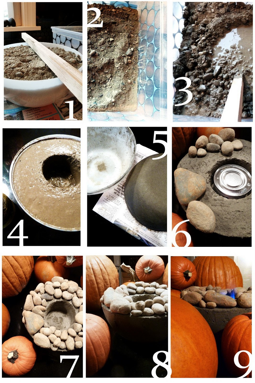 Diy project make a flaming rock bowl in under an hour for Diy projects with rocks