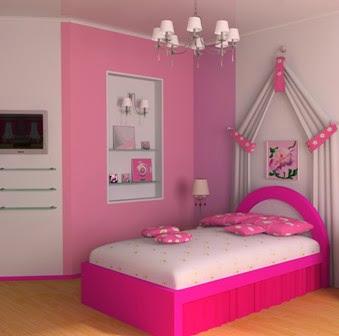 Trend Warna Pink Untuk Warna Cat Rumah Populer 2015