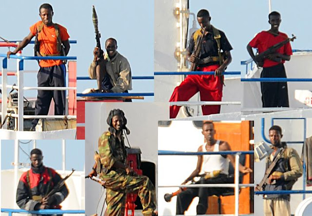 La piratería en Somalia: la punta del iceberg