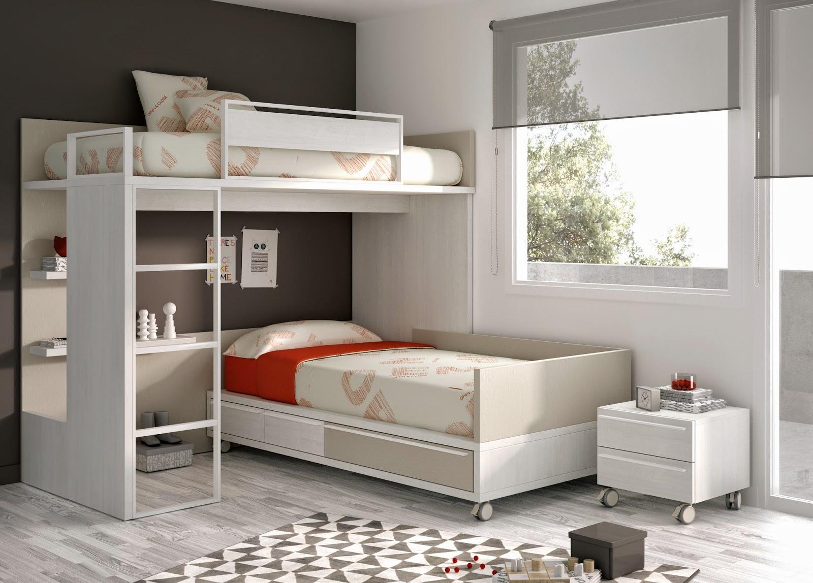 Nuevas literas de muebles ros - Literas para adultos ...