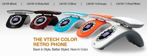 VTech retro phones