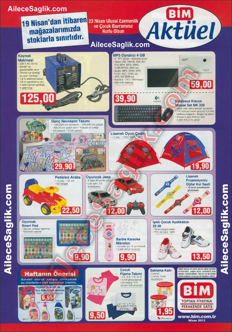 Bim 19 Nisan 2013 Aktüel Ürünler Broşürü 1
