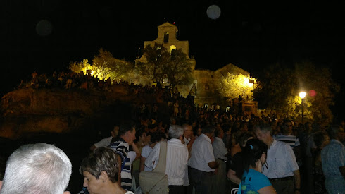 Santuario noche 11 al 12 Agosto 2011