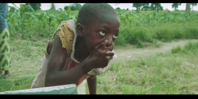 Watch These Zambian Children Getting Clean Water For The First Time. Their Reaction Will Humble You.