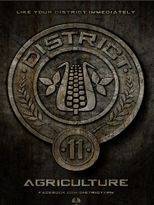 The Hunger Games District 11 Agriculture Poster