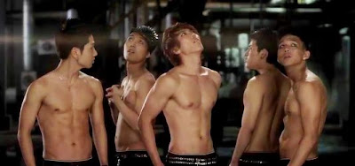 N.Sonic Members Super Boy shirtless
