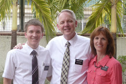 Elder Jones w/  Pres. & Sister Ostler
