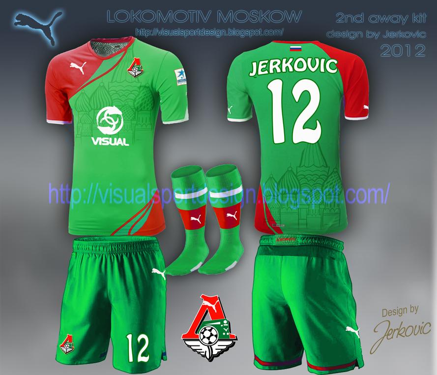 Lokomotiv Moscow Kit Lokomotiv Moscow Away Football