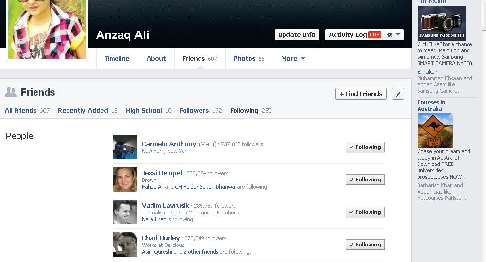 how to see who visited facebook profile