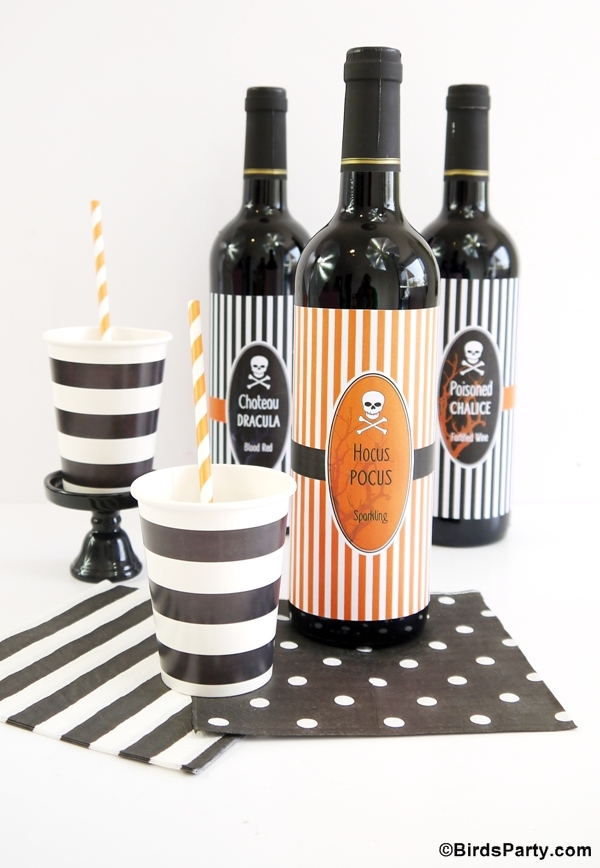 Halloween Tablescape Party Ideas and FREE Printables