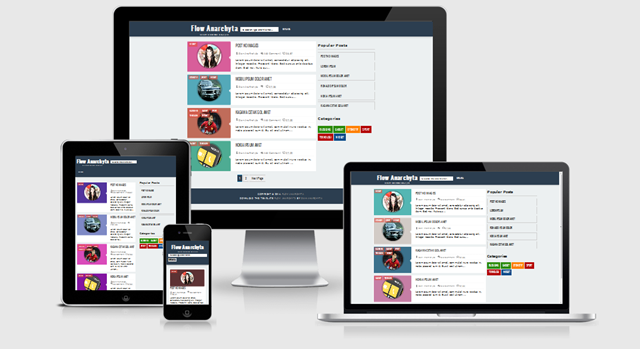 Flow Anarchyta Responsive Blogger Template Valid HTML5 Valid CSS3
