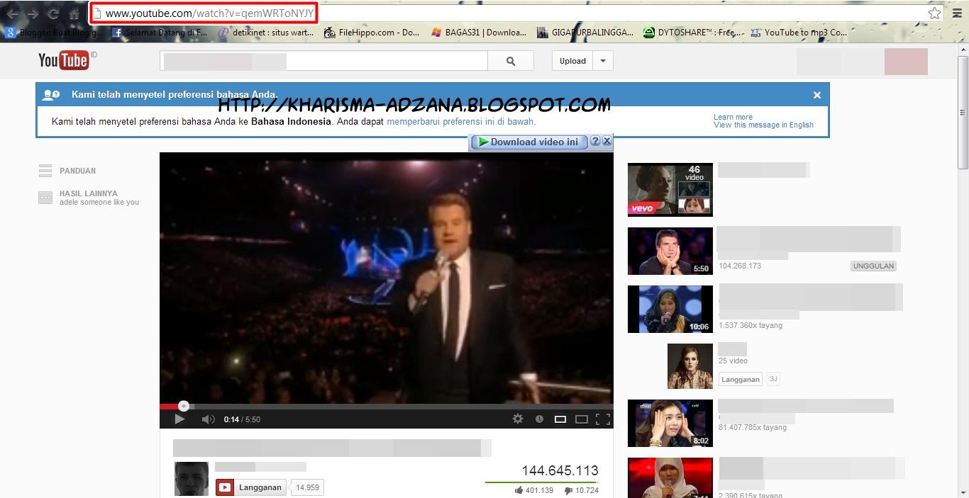 cara download mp3 di youtube kharisma blog
