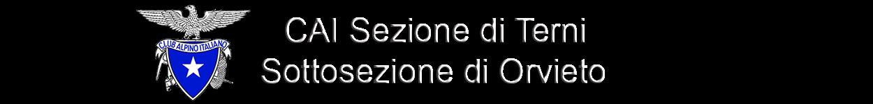 Sezione CAI Terni - Sottosezione di Orvieto