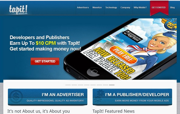 TapIt mobile advertising
