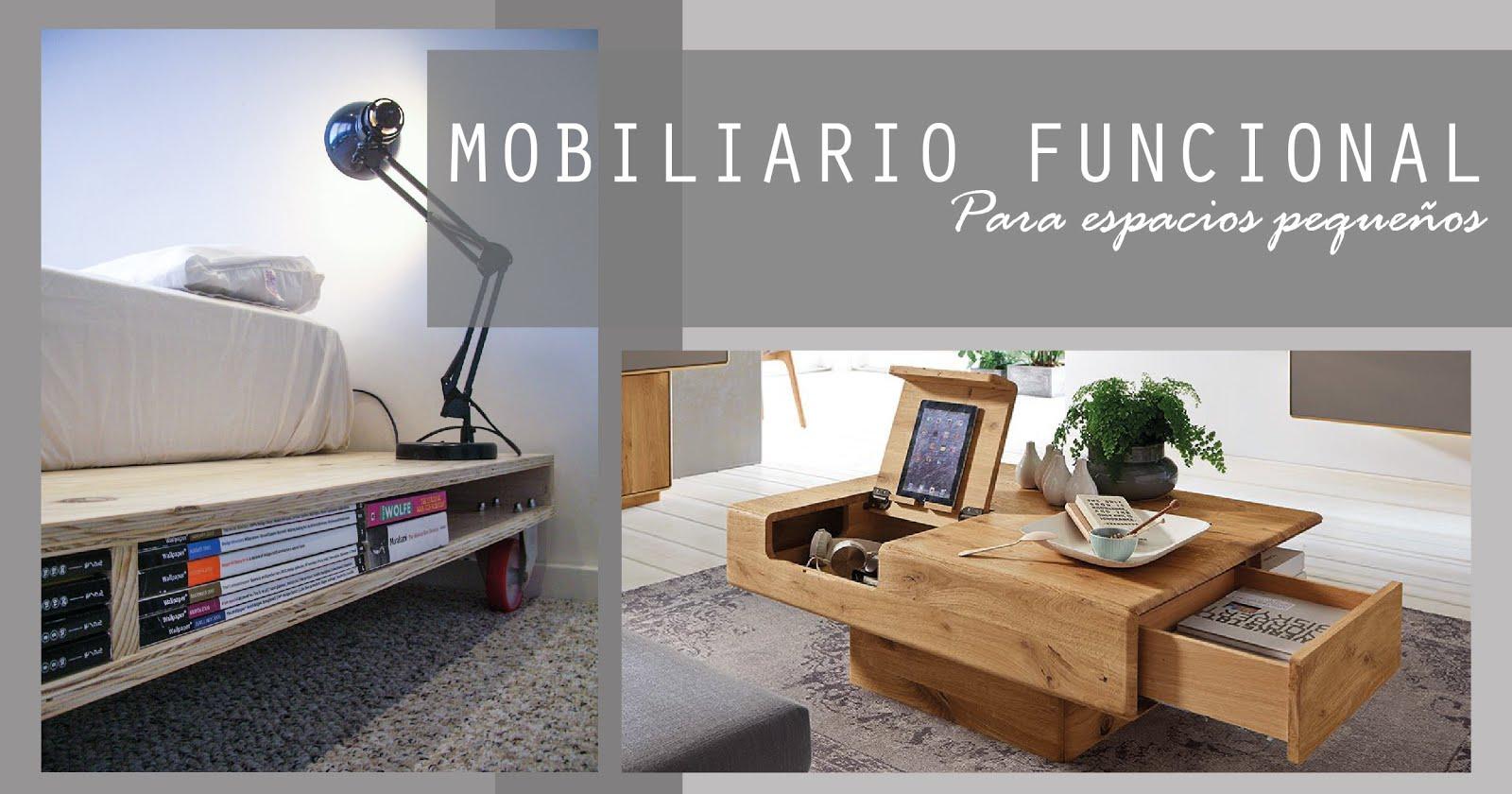 Lainteriorista mobiliario funcional para espacios peque os Mobiliario para espacios reducidos
