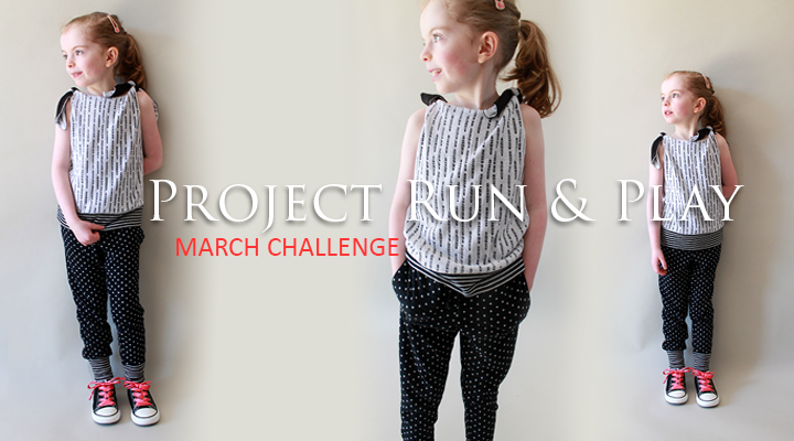 Tri-Knot Knit Top for Project Run & Play, March 2014 | The Inspired Wren