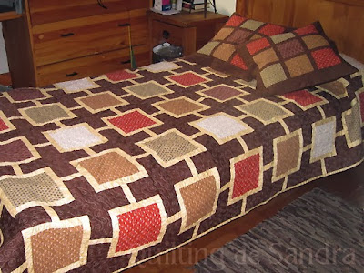 """Quilt de cama """"Capuccino"""""""