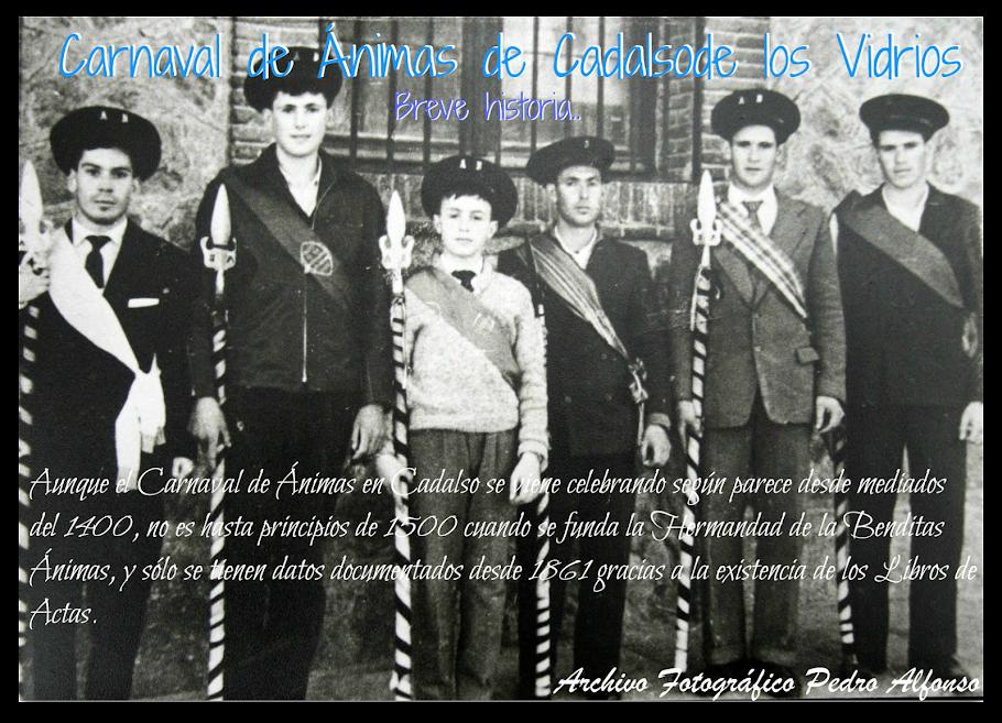 Breve historia del Carnaval de Ánimas de Cadalso de los Vidrios