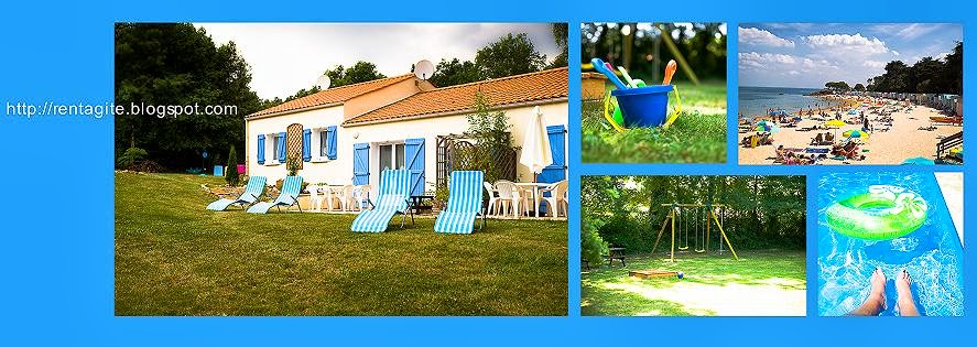 GITES DU PARC***  Vendée  France  gîtes vacances / holiday cottages Piscine / Pool Sea / Mer 15 km