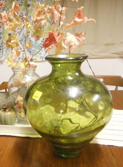 A Heartful Home Im Seeing Green Vase To Lamp Makeover