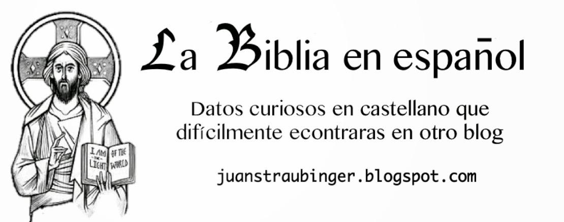 La Biblia en español
